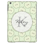 Green Apples, Fruit Pattern iPad Air Cases