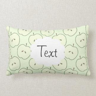 Green Apples, Fruit Pattern Pillow