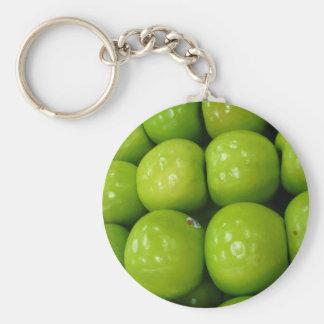 green apples keychain