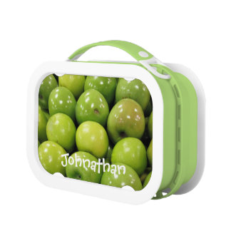 Green Apples Lunch Boxes