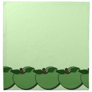 Green Apples Napkin