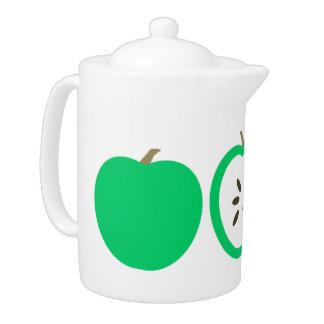 Green Apples Teapot
