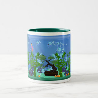 Green Aquarium Mug