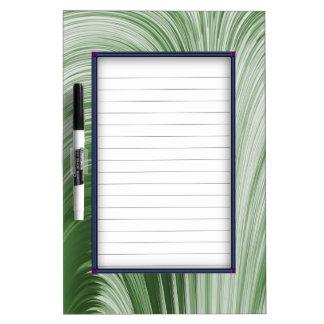 Green Arch Creation Dry-Erase Board