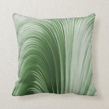 Green Arch Creation Pillow