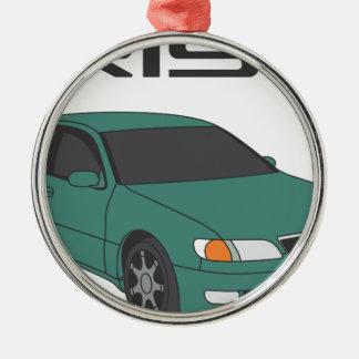Green Aristo Metal Ornament