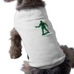 Green Army Man Dog T-shirt