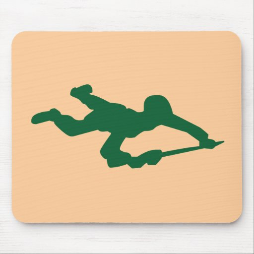 Green Army Man Mouse Pads