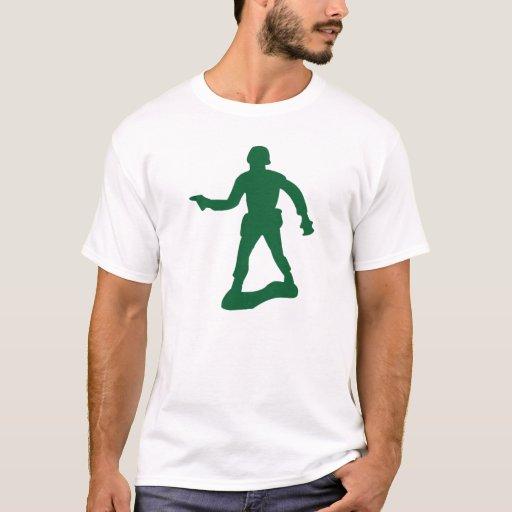Green Army Man T-Shirt