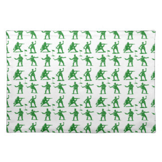 Green Army Men Cloth Placemat