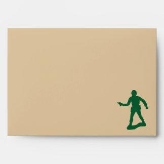 Green Army Men Envelope