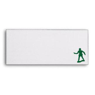 Green Army Men Envelopes