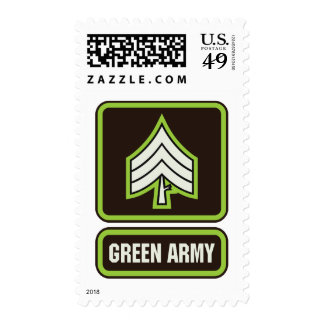 Green Army Postage