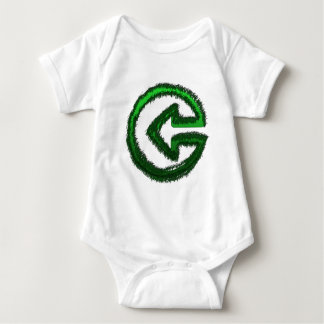 green arrow baby bodysuit