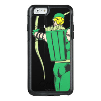 Green Arrow Back View OtterBox iPhone 6/6s Case