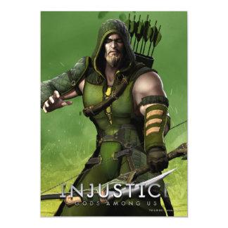 Green Arrow Card