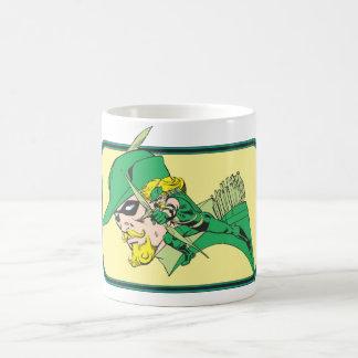 Green Arrow Head Shot Coffee Mug