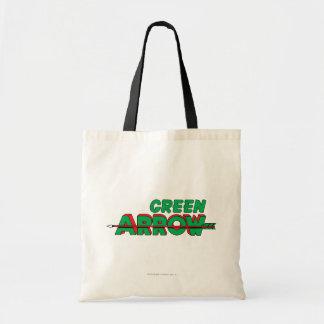 Green Arrow Logo 2 Tote Bag