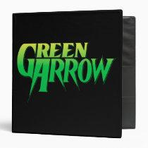 green, arrow, emerals, archer, battling, bowman, mayor, queen, super, friends, auu, lanu, lau'ava, justice, league, heroes, comic, book, hero, Binder with custom graphic design