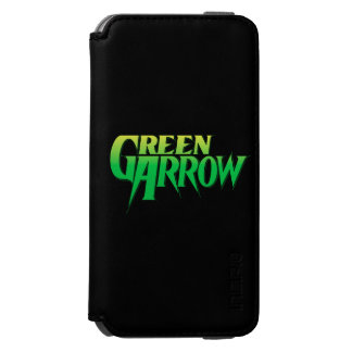 Green Arrow Logo 3 iPhone 6/6s Wallet Case