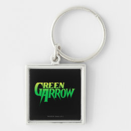 Green Arrow Logo 3 Keychain
