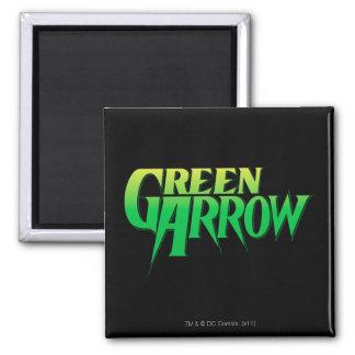 Green Arrow Logo 3 Fridge Magnets