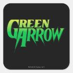 Green Arrow Logo 3 Stickers