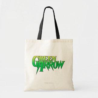Green Arrow Logo 3 Tote Bag