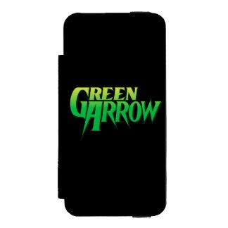 Green Arrow Logo 3 Wallet Case For iPhone SE/5/5s