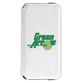 Green Arrow Logo iPhone 6/6s Wallet Case