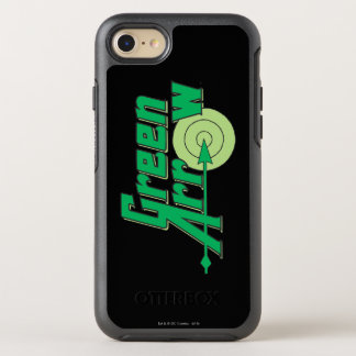 Green Arrow Logo OtterBox Symmetry iPhone 7 Case