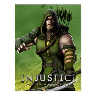 Green Arrow Postcard