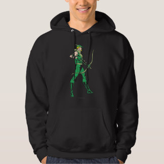 Green Arrow Profile Hoodie