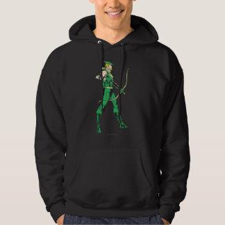Green Arrow Profile Hoodie