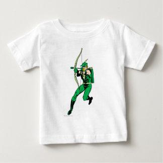Green Arrow Shooting Arrow Baby T-Shirt