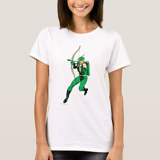 Green Arrow Shooting Arrow T-Shirt