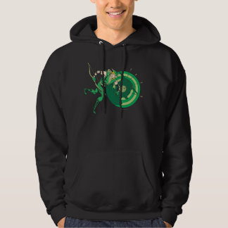 Green Arrow with Target 2 Hooded Pullover