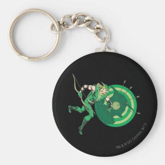 Green Arrow with Target 2 Keychain