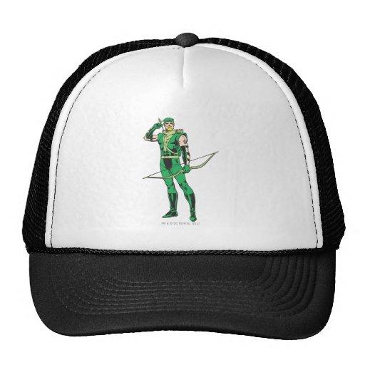 Green Arrow with Target Trucker Hat