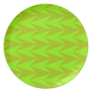 Green Arrowheads Plate