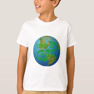 Green arrows Ecology T-Shirt
