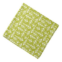 Green Arrows Pattern Bandana