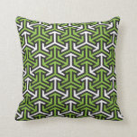 Green arrows pillows