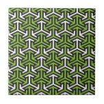 Green arrows tiles