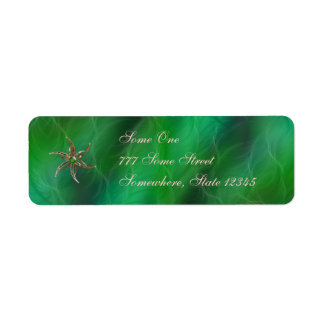 Green As the Grass Address Labels