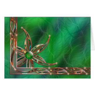 Green As the Grass Card