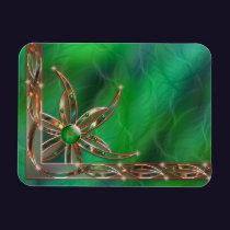 Green As the Grass Flexible Magnet