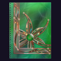 Green As the Grass Notebook
