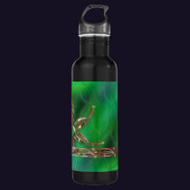 Green As the Grass Stainless Steel Water Bottle