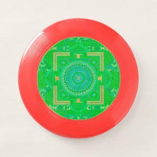 Green Asian Mandala Frisbee